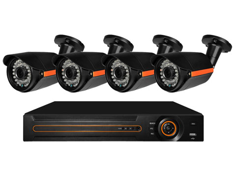 4 CHANNEL 720P HD ANAGLOG KIT